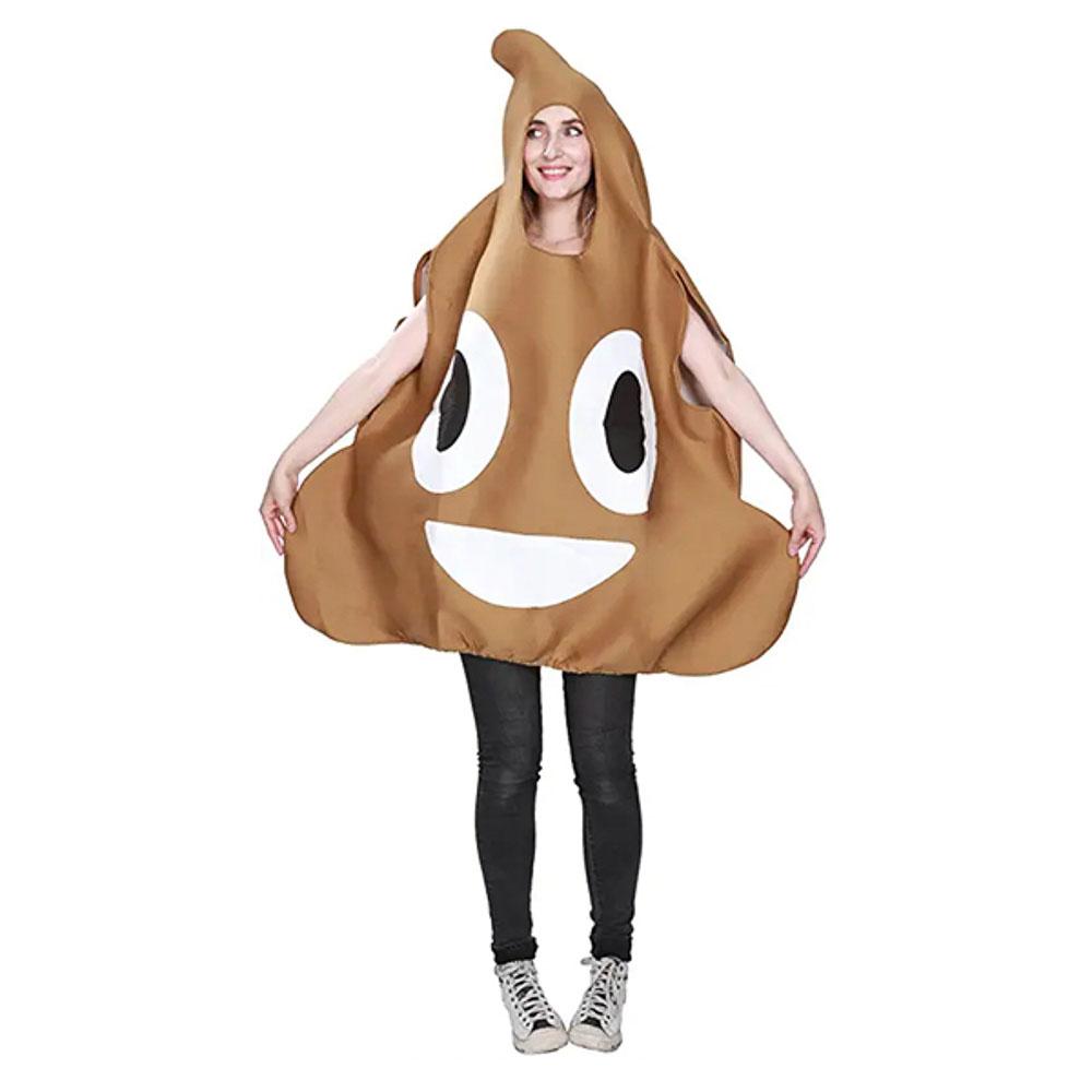 Poop emoji costumes